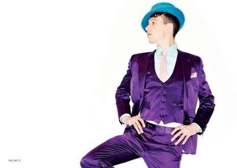 Violet Gentleman Suits