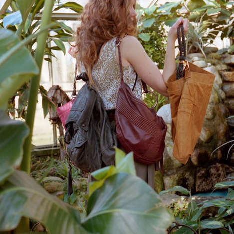 Recycled Luxury Leather Bags