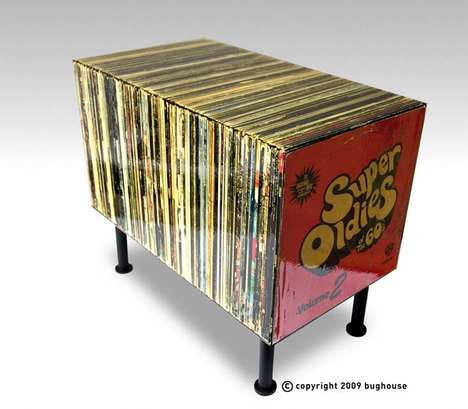 Fake Retro Record Tables