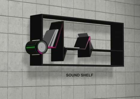 Squiggly Sound Shelves