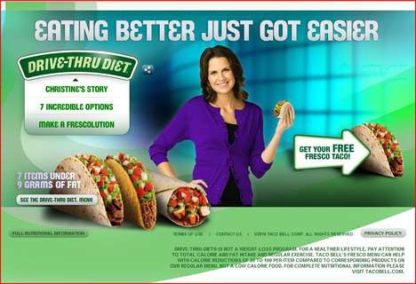 Drive-Thru Diets - Woman Loses 54 Lbs Eating Taco Bell