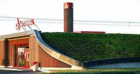 Green Roof Service Stations