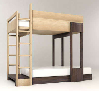 Funky Bunk Beds - Pluunk Bunk Bed is Only for the Coolest Kids