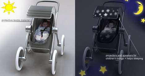 The Liviu Tudoran Baby Stroller Will Keep Your Child Occupied