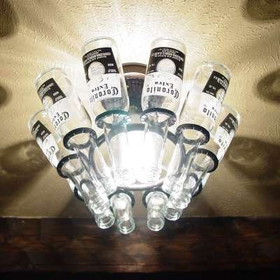 Beer Bottle Decor
