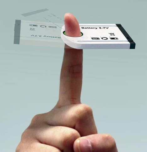 Finger-Powered Batteries