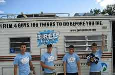 Bucket List Reality Shows - MTV's The Buried Life Features 100 Things to do Before You Die