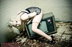 Sensual TV-Tography - The Lauren WK Photoshoot Channels Old School Burlesque