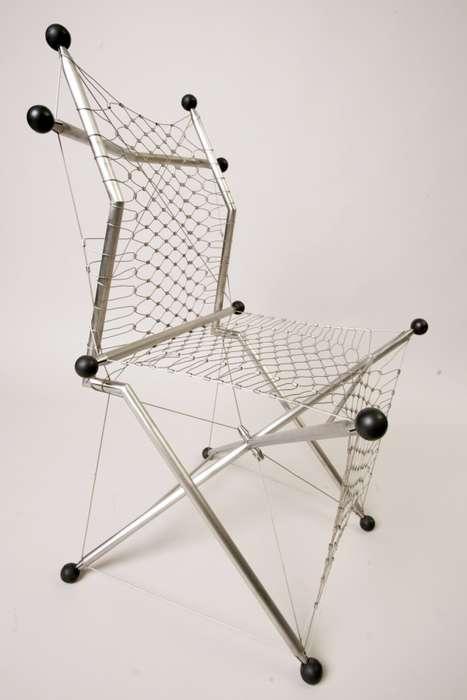 Steel Netted Seats