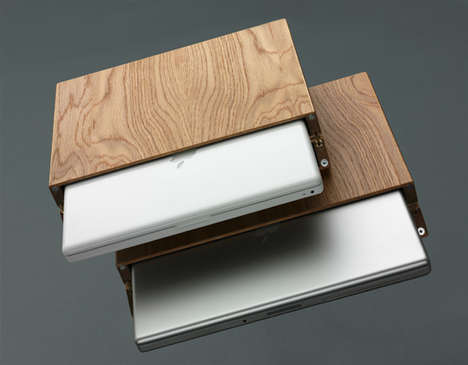 Wood Cased Macbooks