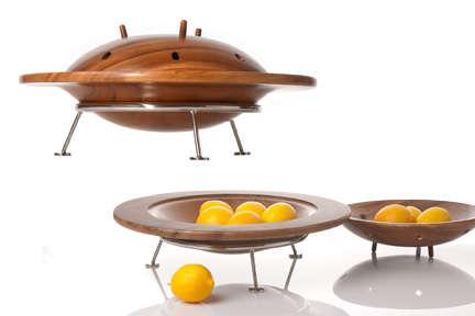 Alien Invader Fruit Bowls