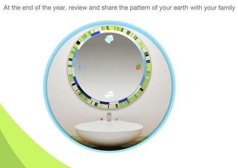 Informative Eco Mirrors