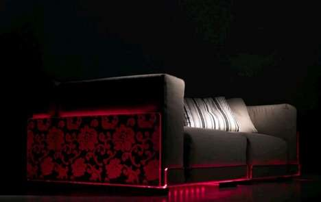 Illuminating Sofas - LED Lighting Sofas Brighten up Your Furniture