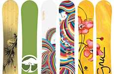 Ultra Sustainable Snowboards - The Arbor Collective is Eco-Solid