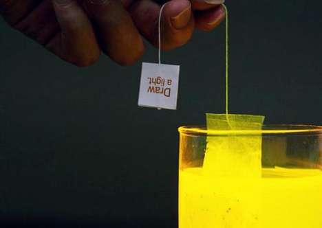 Glowing Tea Bags