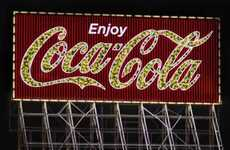 Eco Iconic Billboards - Coca-Cola Goes Green With a Billboard in San Francisco