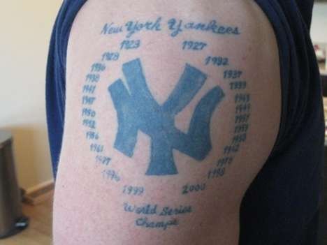 Fanatical Sports Tattoos