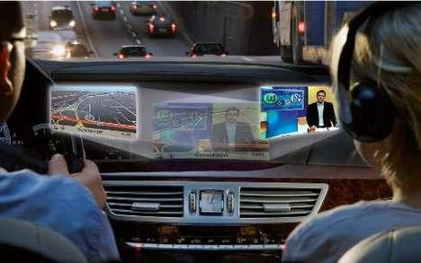 Dual-View In-Dash Displays