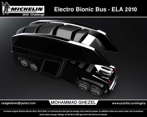 Futuristic Public Transportation