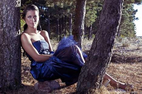 Forest Gowns - The All-Blue Luca Rondoni Collection