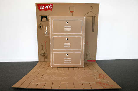 Condensed Cardboard Closets