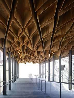 Geometric Subway Ceilings