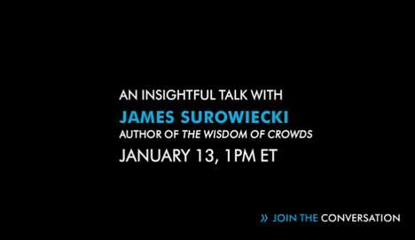 Tune in to the James Surowiecki HP Input Output Webcast at 10 AM!