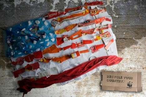 Recycled Patriotism