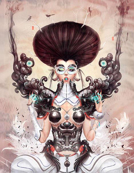 Cyborg-Esque Illustrations