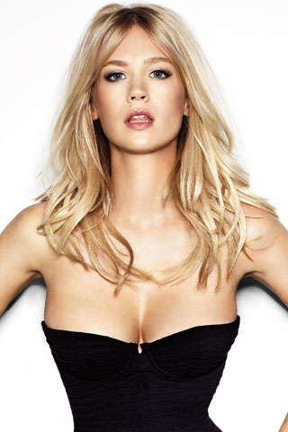 January Jones Heats Up British GQ