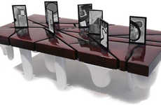 Digitized Coffee Tables - Nanobrick Miyoul's Custom Designed Digital Frames