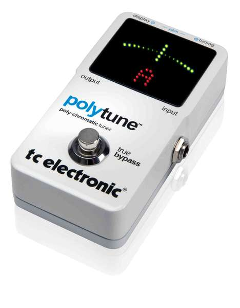 The Poly Tune Guitar Tuner Makes Getting in Key A Lot Easier