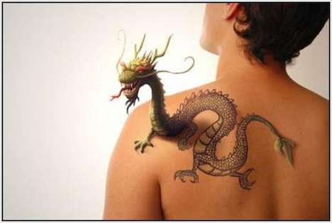 3d Tattoo Photography