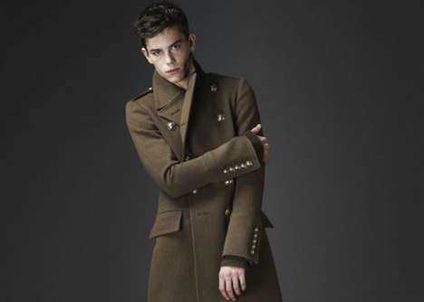 Faux Military Menswear