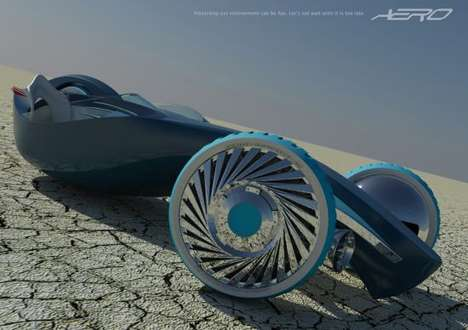 The Aero Sustainable Vehicle Concept is Inspired by Air and Water