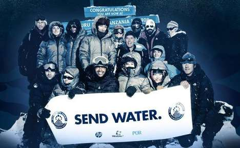 Climbing for Clean Water - Celebs Take to 'Summit on the Summit'