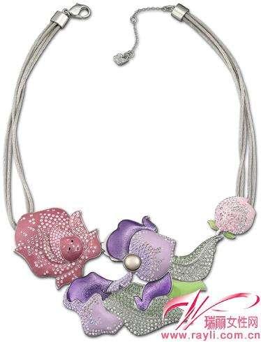 Floral Fantasy Necklaces
