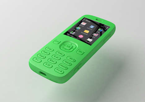 80% Recycled Phones - The Eco Nokia 5 Year Phone by James Barber
