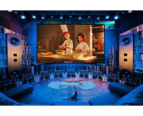 24 Innovtive Home Theater Systems