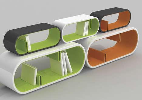 Pill-Shaped Storage