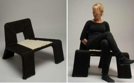 Panda-Like Seating
