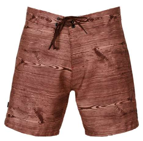 Faux Bois Boardshorts - Gnarly Men's 'Trunk' Style from Ahoy Surf