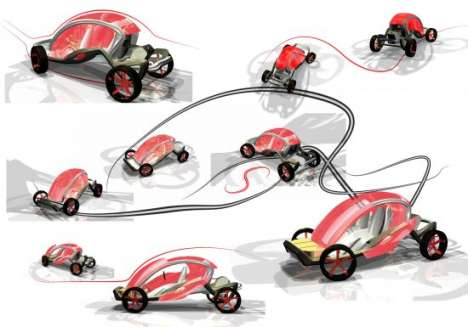 Open-Air Eco-Cars