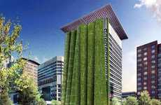 Folding Vertical Gardens - The Wyatt Federal Building's $135 Million Remodel
