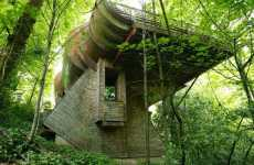 Forest Canopy Lofts - The Ultimate Tree House Designed by Robert Harvey Oshatz