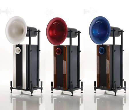 Foghorn-Style Speakers
