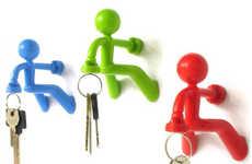 Key Holding Mail Slots Wooden Key Holder