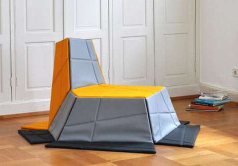 Collapsable Carpet Chairs
