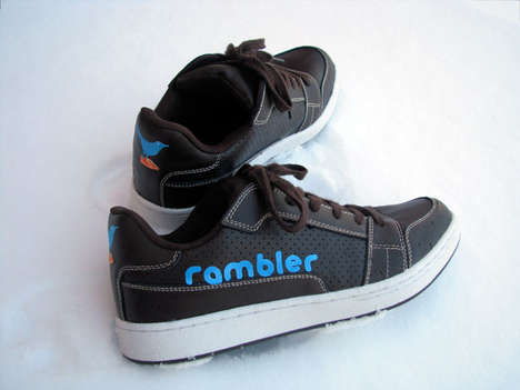 Tweeting Shoes - Ramblers Follow Every Step You Take