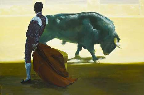 Badass Bullfight Paintings